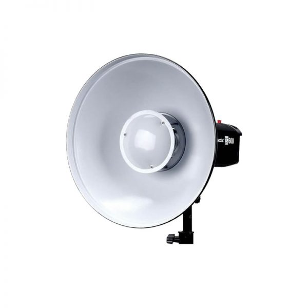 Reflector Beauty Dish 42cm Blanco