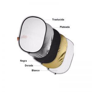 Reflector 5 en 1 100x150cm