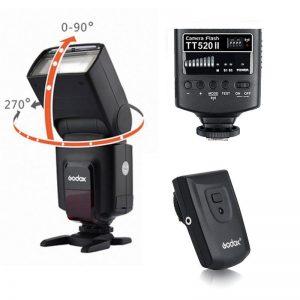 Flash Godox TT520 II + Trigger